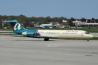 Airtran Plane Waiting