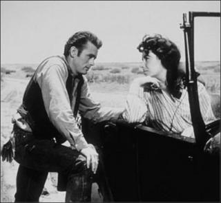 James Dean/Elizabeth Taylor - Look at those sideburns