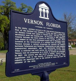 Vernon, Florida, where dreams come true.