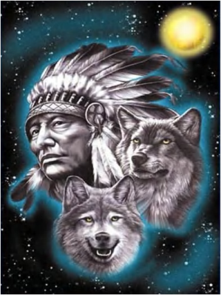 Can you tell which is the good wolf?