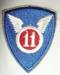 11th Airborne WW2 Division Patch