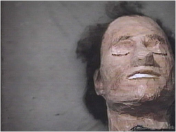 Clint Eastwood's fake head in Escape from Alcatraz