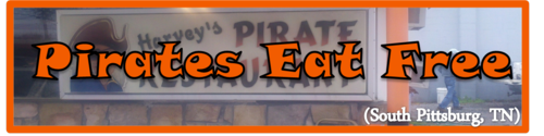 Pirates Eat Free by BN Heard (c)