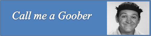 Call me a Goober by BN Heard (c)