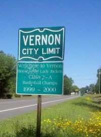 """Let's go to Vernon!"""