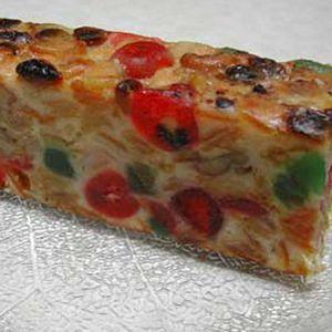 A nice slice of fruitcake