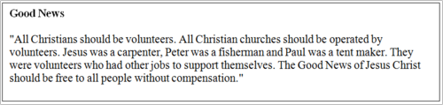 Concerned with Clergy Compensation