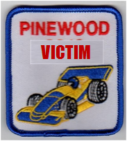 I should have gotten a Pinewood Derby Victim patch or badge or belt loop or something for what they did to me.
