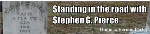 Standing in the road with Stephen G. Pierce by BN Heard (c)
