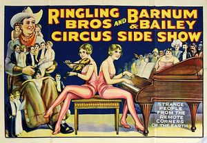 P.T. Barnum had his freaks...