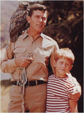 Andy, Opie and an Owl