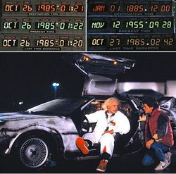 Doc Brown & Marty