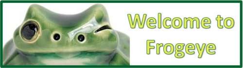 Welcome to Frogeye by BN Heard (c)