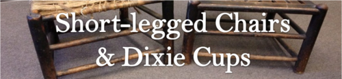Short-legged Chairs and Dixie Cups by BN Heard (c)
