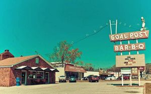 Anniston, Alabama - Goal Post Bar-B-Q