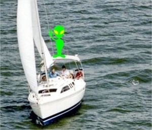 Sailing into Area 51 by BN Heard