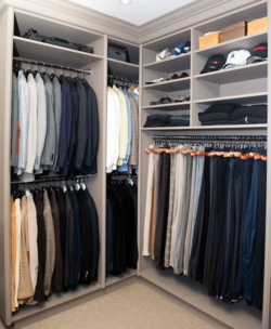 Whose closet looks like this? (not mine)