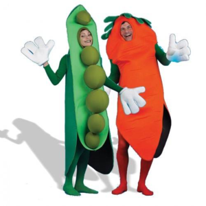 No, I would not wear these silly costumes