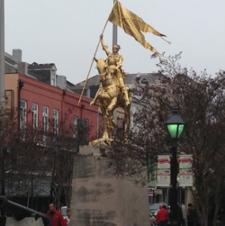 Joan of Arc in NOLA
