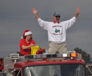 Grand Marshal, Vernon (FL) Christmas Parade