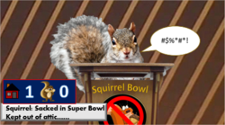 Squirrel Pitching Hissy Fit