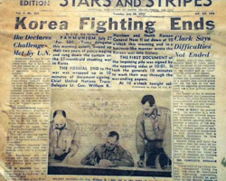 Korean War Ends