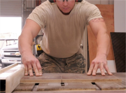 Military Carpenters can do math!