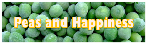 Peas and Happiness by BN Heard (c)