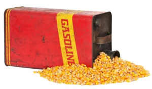 Corn stops engines up...  So they say...