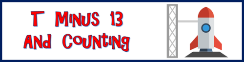 T Minus 13 and Counting by BN Heard (c)