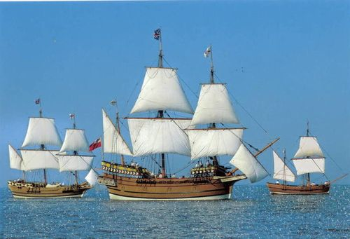 Jamestown_Susan_Constant_Godspeed_Discovery