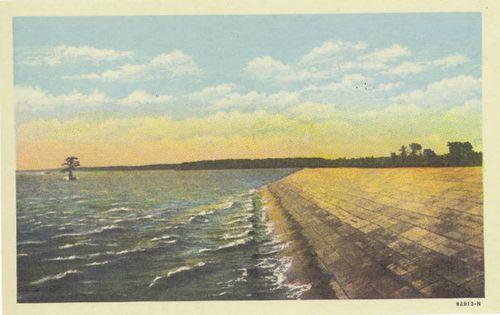 Old Jamestown Island Seawall