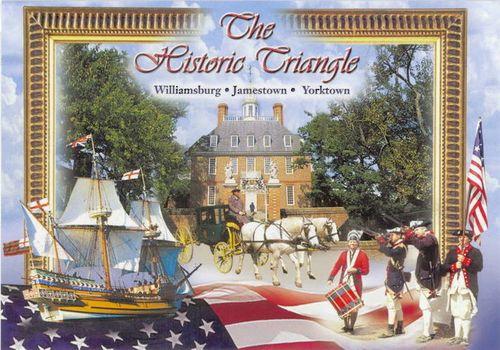 The Historic Triangle (Williamsburg/Jamestown/Yorktown)