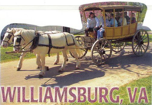 Williamsburg Carriage cutout